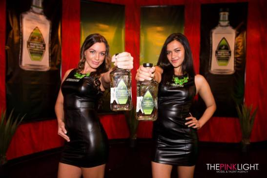 The Pink Light Agency promotional models for Hornitos Tequila & Playboy